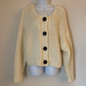 Zara Cardigan Loose fitting slouchy size Small